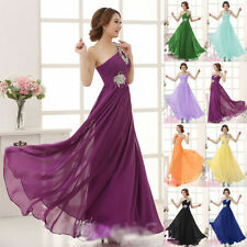 New Chiffon Evening Formal Party Ball Gown Prom Bridesmaid Long Dress Homecoming