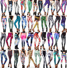 Pro Digital Printed Cosmic Galaxy Space Trendy Multicolored Leggings Tight Pant