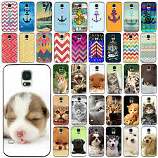 Colorful Anchor Cute Gentle Animals Retro Case Cover for Samsung Galaxy S3 S4 S5