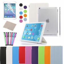 For iPad 2/3/4 Air 2 PU Leather Smart Case Cover Slim Magnetic Wake Protector