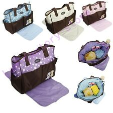 Utility Multifunctional BABY Diaper Nappy Changing Bag Mat Mummy Tote Handbag