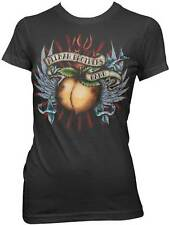 THE ALLMAN BROTHERS BAND GLITTER WINGS TATTOO PEACH MUSIC JRS T TEE SHIRT S-XL