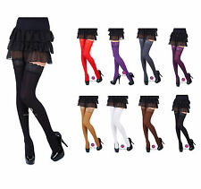 Lace Top 40 Denier Sheer Hold-Ups Stockings byRomartex-Sizes S-XL- 8 Various Col