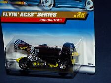 Hot Wheels 1998 Flyin' Aces Series #738 Dogfighter Black w/ 5SPs