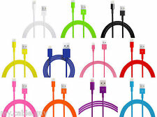 Lot USB Lightning Charger Data Sync Cable for Apple iPhone 5 6 iPod 1m 2m 3m .1m