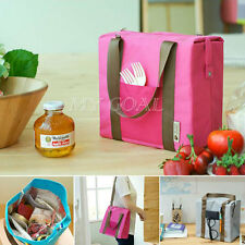 Thermal Insulated Waterproof Tote Shoulder Picnic Cooler Lunch Storage Bag Box