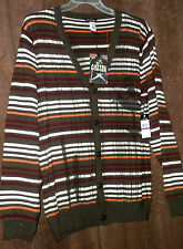 NWT 2X 3X or 4X Artful Dodger Men's CHESTNUT CONSPIRE CARDIGAN SWEATER $148 tags