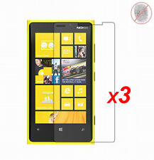 3x Anti-Glare Matte/ Clear LCD Screen Protector Guard Film for Nokia Lumia 920