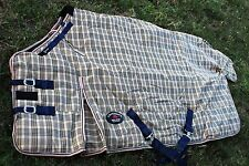 1200D Turnout Waterproof Horse WINTER BLANKET HEAVY WEIGHT Tan 506G
