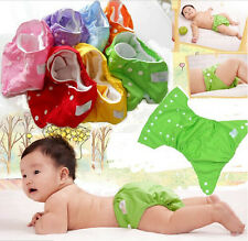 Newborn Baby Boys Girls Cloth Wrap Diaper Cover Underwear Pants Washable Infant