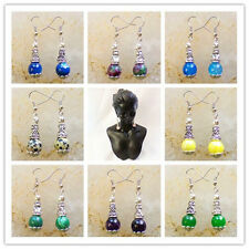 Wholesale!Beautiful Mixed Gemstone Earrings 1Pair or 9Pair LZ-89