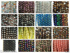 Semi Precious Gemstone Rounds Beads for Jewellery Making - 8mm (47-50 beads)