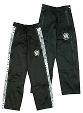 Zipway NBA Basketball Youth Brooklyn Nets Paisley Tear-Away Track Pants, Black