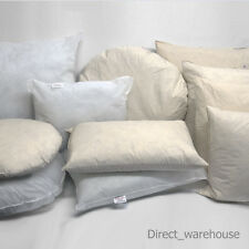 Duck Feather / Hollowfibre / Microfibre Cushion Scatter Insert Pad Filler Inner