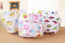 2015 Newborn Baby Soft Colorful Cloth Diaper Cover Cotton Washable Infant Nappy