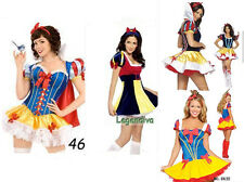 Snow White Character Fancy Dress Costume Ladies Disney Outfit Halloween plus
