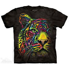 THE MOUNTAIN RAINBOW TIGER CAT BENGAL DEAN RUSSO ZOO ANIMALS T TEE SHIRT S-5XL