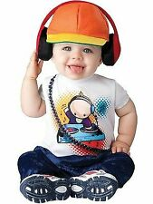 Incharacter Baby Beats Dj Edm Music Infant Costume Halloween Cute Baby Size S-L