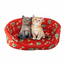 Warm Cozy Puppy Dog Cat Kitten Pet Bed Pad Cushion Basket Sofa Couch Mat