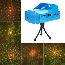 Mini 5W LED Red&Green Laser Projector Stage Light Voice-activated DJ Disco Light