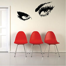 Giant EYES Large Vinyl Art Wall Stickers, Wall Decals,Transfers, Stencil 014