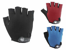 Women Men Cycling Half Finger Sports Lycra Gloves Mountain Bike Bicycle Riding