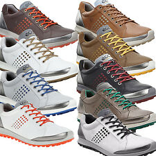 New ECCO 2015 Men's BIOM Hybrid 2 Golf Shoes Yak Leather - Pick Size & Color