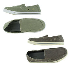 Justin Brands Men's Assorted Canvas Slip On Sneakers Shoes