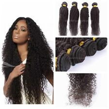 "8""-30""New Brazilian Virgin Hair Kinky Curly Human Hair Weave Extensions1 Bundle"