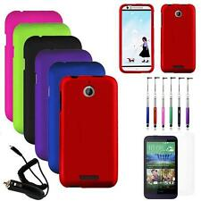 Phone Case For HTC Desire 512 510 Hard Cover Car Charger Screen Protector Stylus