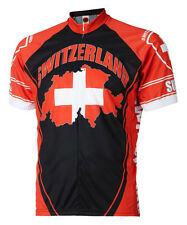World Jerseys Switzerland Swiss Cycling jersey Men's bike bicycle Die Schweiz