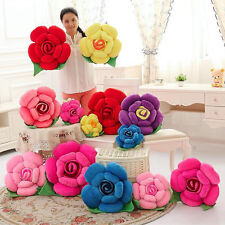 Rose Flower Pillows for Kids Girl Room&Baby Nursery Home Decorative Decor Pillow
