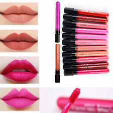 Ladies Party Makeup Lipstick Matte Red Colour Series Lip Gloss Waterproof Pencil