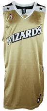 Adidas NBA Basketball Mens Washington Wizards BLANK Authentic Jersey, Gold