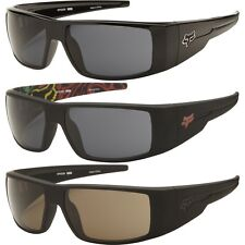 NEW Fox The Condition Black Mens Sport Wrap Sunglasses Msrp$110