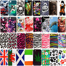 Printed Hard Shell Back Fits Slim Case Cover For Apple Iphone Ipod Mobile Phones