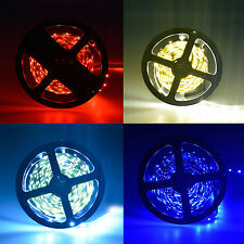 Xmas 5M red blue White Non-Waterproof SMD 3528 Flexible LED Strip Light 300 Leds