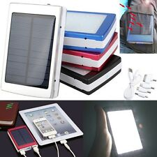 5000/10000/30000/50000mAh USB Solar Panel Power Bank External Battery Charger HK