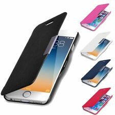 Luxury Wallet Stand Leather Flip Case Slim Magnetic For iPhone 4 4S 5 5S 6 Plus