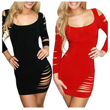 Women Casual Evening Party Ball Gown Prom Dress Bandage Club Sexy Mini Dresses