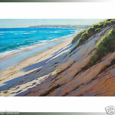 Central coast beach dunes nth entrance seascape coastal oil painting by gercken