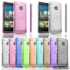 Coque Etui Housse silicone gel Case Funda Htc One M9 Transparent Ultra Fin Thin
