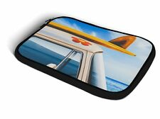 Summer Road Trip iPad Neoprene Zipper Case fits Apple iPad, Air, & Mini Neoprene