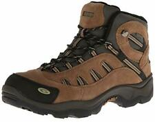 Men's HI-TEC BANDERA WATERPROOF Brown/Green Leather Casual Hiking/Work Boots New