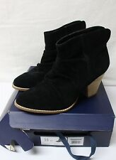 Splendid Rodeo Womens Ankle Boots Booties Black Suede Size 10 M NEW FREE SHIP