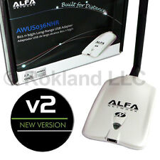 Alfa AWUS036NHR v2 USB Wi-Fi Adapter -Choose Your Accessories- LONG RANGE KIT