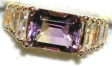 Men's Genuine Brilliant Brazilian Ametrine Ring   72012