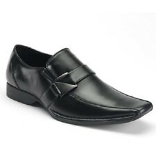 Men's APT. 9 CANCUN Black Loafers Office Slip On Casual/Dress/Formal Shoes NEW