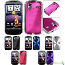 Hard Cosmo Case Cover For HTC Amaze 4G Snap-on Slim Metal Back
