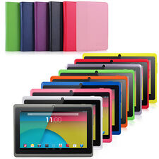 7'' Quad Core Tablet Android 4.4 KitKat 8GB Dual Camera WiFi Bundle Refurbished